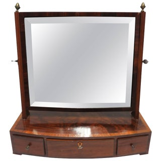 Antique Vanity Mirror With Drawers For Sale