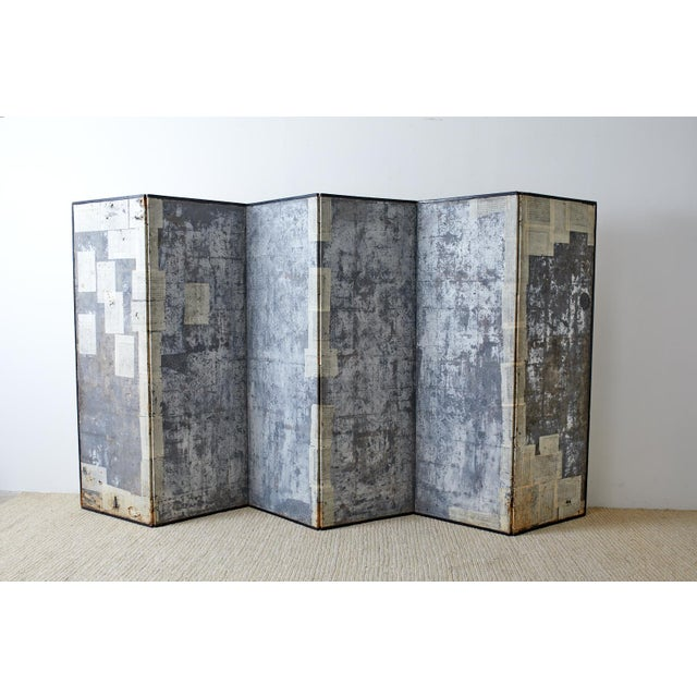 Korean Six-Panel Screen of Legendary Chinese Figures For Sale - Image 12 of 13