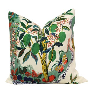Citrus Garden With Lime Tree Decorative Pillow Cover