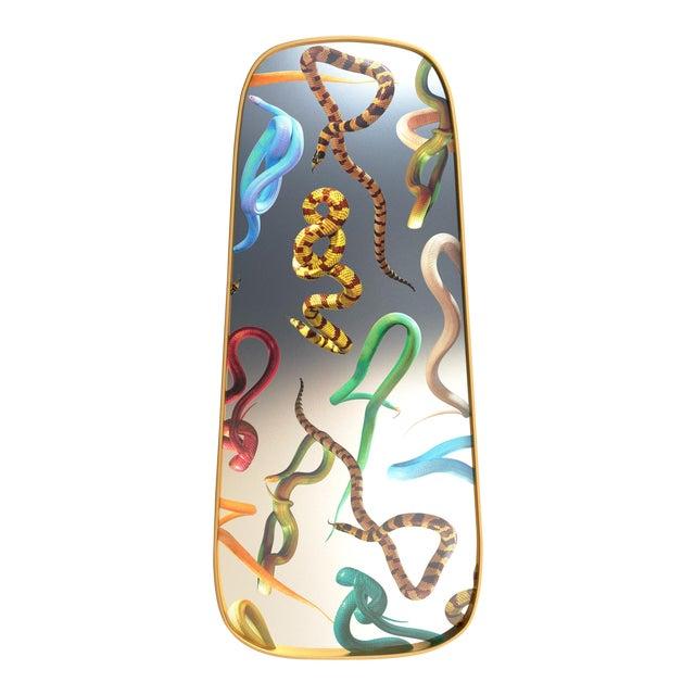 Seletti, Snakes Mirror, Long, Toiletpaper, 2018 For Sale