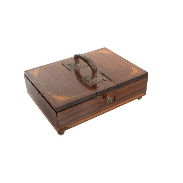 19th Century Unusual English Gentleman Box For Sale