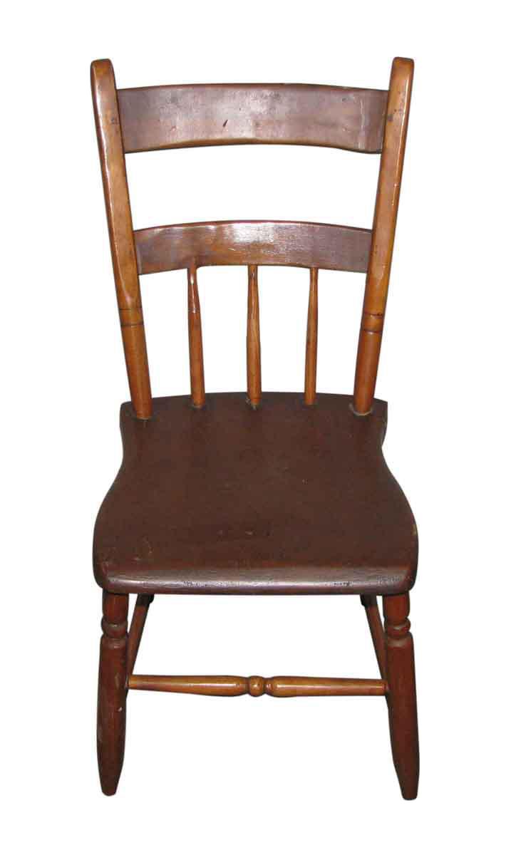 Antique American Wooden Desk Chair Chairish