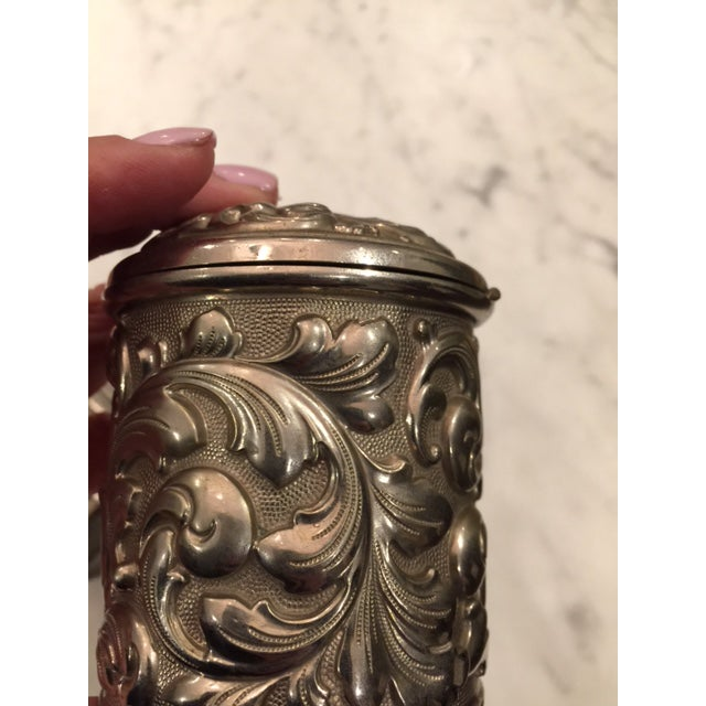 French Silverplate Cigarette Case - Image 5 of 5