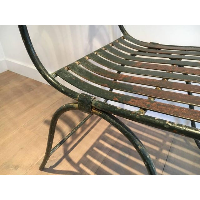 French Wrought Iron Garden Chair - Image 10 of 11
