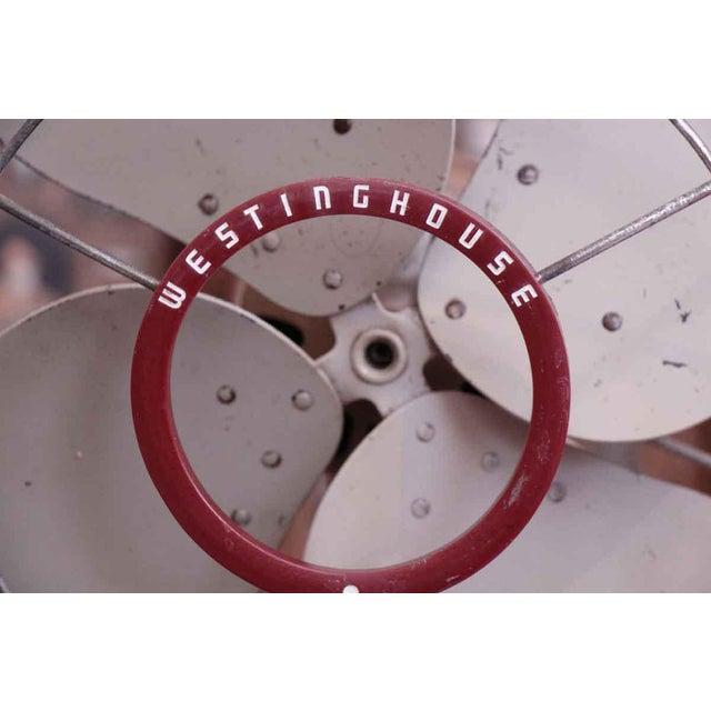 Industrial Vintage Westinghouse Fan For Sale - Image 3 of 8