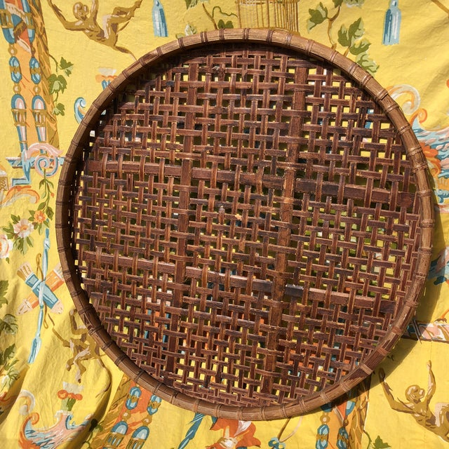 Vintage Bamboo Tobacco/Flower Drying Rack For Sale - Image 10 of 10