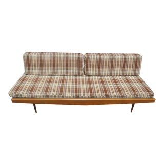 1960's Mid-Century Modern Yugoslavia Walnut Daybed / Couch For Sale