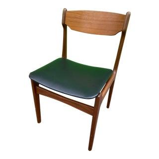 Mid-Century Modern Danish Teak Side Chair For Sale