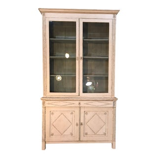 French Directoire Deux Corps Bookcase For Sale