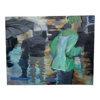Rain by Tamara Wasserman Contemporary Painting For Sale