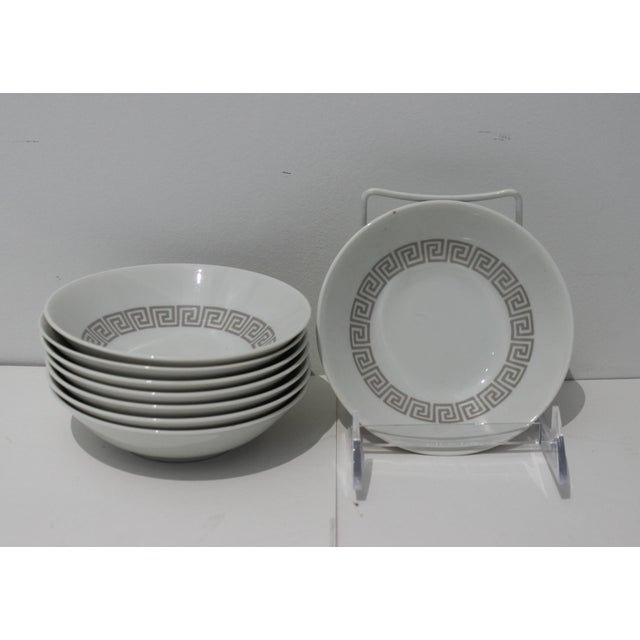 """Mid-Century Modern Rosenthal """"Athenia"""" Dinner Service for 8 Plus Serving Pieces - 63 Items Total For Sale - Image 10 of 13"""