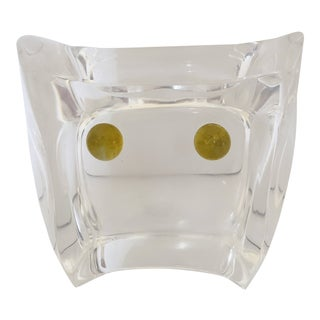 Mid Century Ritts Astrolite Lucite Owl For Sale