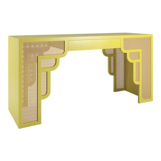 Habanera Console Table - Citron For Sale