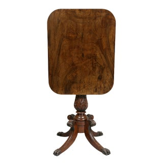 American Mahogany Candlestand For Sale