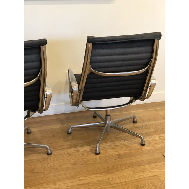 "Contemporary Vintage Herman Miller Eames ""Group"" Chair - A Pair For Sale - Image 3 of 9"