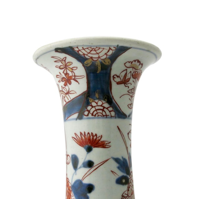 17th Century 17th Century Antique Japanese Porcelain 5 Piece Porcelain Garniture - Set of 5 For Sale - Image 5 of 13