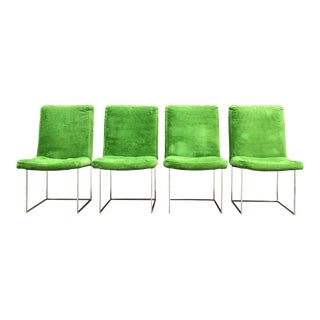 Milo Baughman for Thayer Coggin Dining Chairs - Set of 4