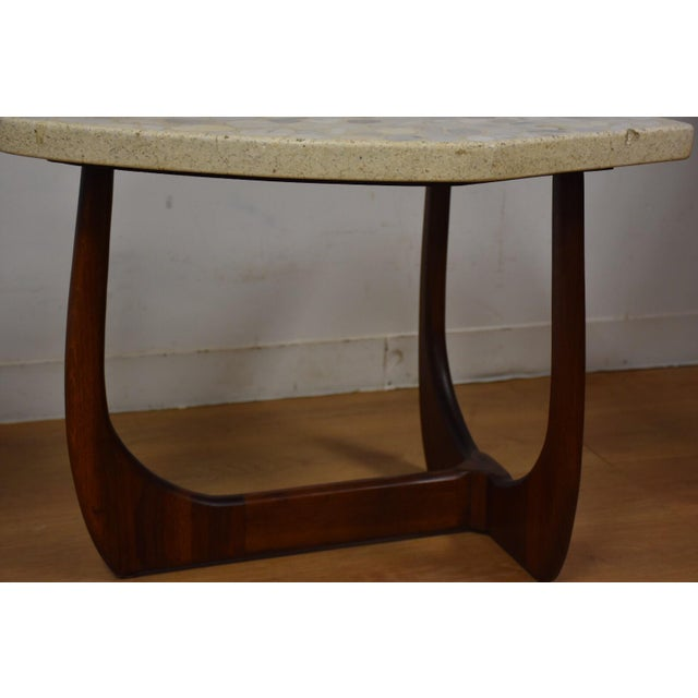 Brown Harvey Probber Terrazzo End Tables - A Pair For Sale - Image 8 of 11
