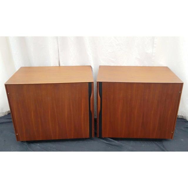 1970's Mid-Century Modern John Kapel for Glenn of California Side Tables/Nightstands - a Pair For Sale - Image 10 of 11