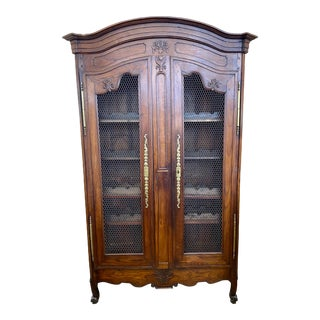 Early 19th. Century French Louis XV Wine Cabinet For Sale