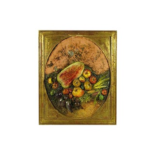 19th-C. Italian Maiolica Relief For Sale