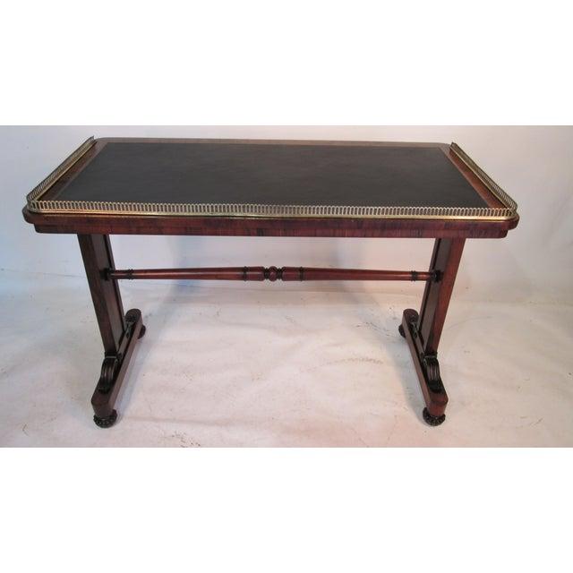 Joseph Gerte Rosewood Desk For Sale In Portland, ME - Image 6 of 12