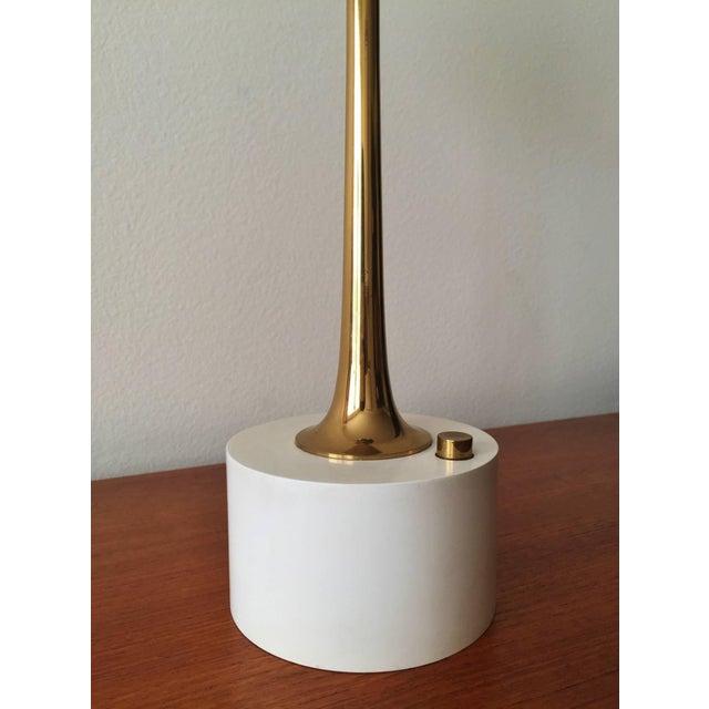 Angelo Lelli Cobra Lamp for Arredoluce, in Brass, 1964 For Sale - Image 5 of 9