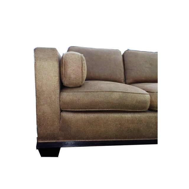 "Baker ""Modern Reed"" Sofa by Barbara Barry - Image 7 of 9"