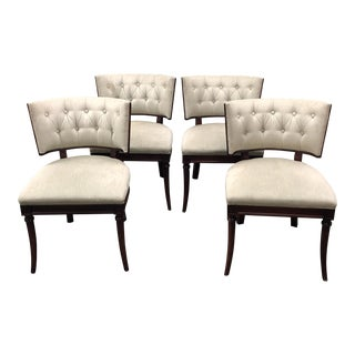 Hickory Chair Gabrielle Dining Chairs - Set of Four For Sale
