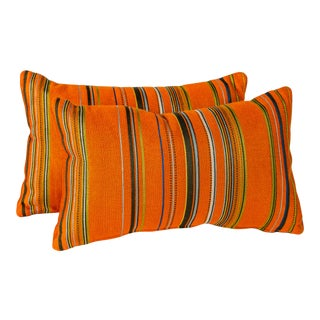 """20"""" X 12"""" Maharam Point by Paul Smith Pillows, Pair For Sale"""
