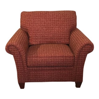 Stickley Red Chesapeake Chair and Ottoman For Sale