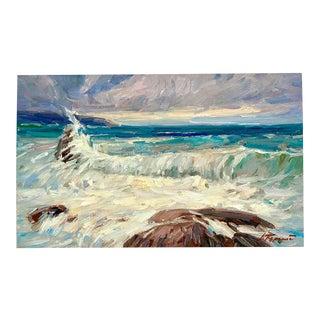 Original Impressionist Seascape Painting