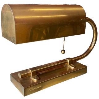 Ralph Lauren Brass Desk Lamp For Sale