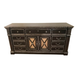 20th Century Louis XIV Philippe Langdon Versailles Door Dresser For Sale