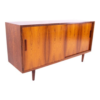 1960s Mid Century Poul Hundevad Danish Rosewood Sideboard For Sale