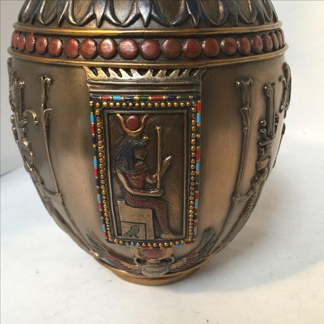 Large Egyptian Dog Urn - Image 3 of 10