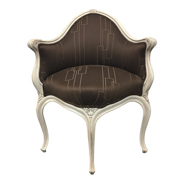 Art Nouveau Corner Chair - Image 1 of 11