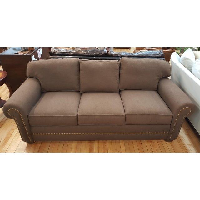 Cerrito Sofa Bed that includes a blow up inner spring mattress. It is a queen size bed sleeper and a commercial grade...