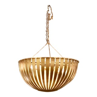 Arteriors Brass Camden Chandelier For Sale