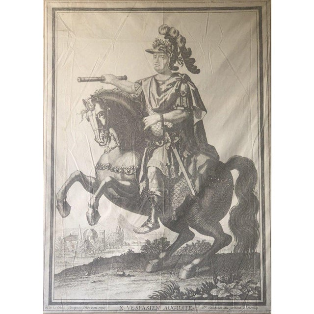Mid 19th Century Auguste Parisian Leather Art For Sale - Image 5 of 5