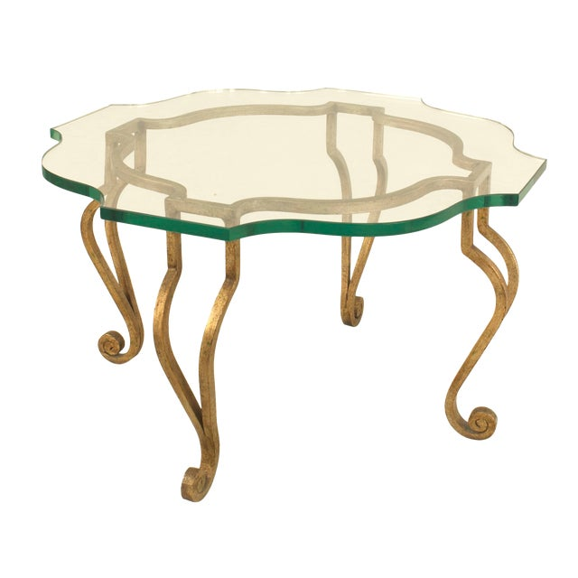 Mid-20th Century French Coffee Table, Attributed to Jansen For Sale