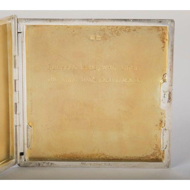 Silver Cigarette Box For Sale - Image 12 of 13
