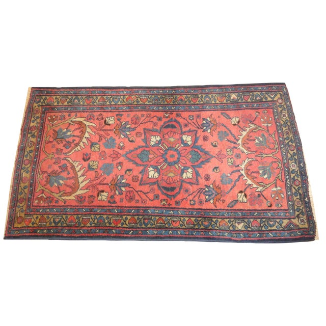 "Antique Persian Lillihan Rug - 5' x 2'9"" For Sale"