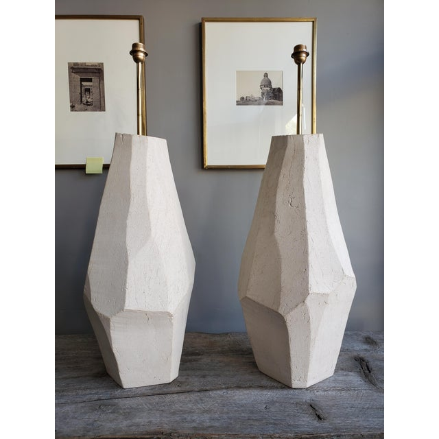 Early 21st Century A Pair of Ceramic Floor Lamps For Sale - Image 5 of 5