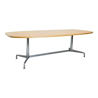 Large Mid-Century Design Eames Conference Dining Table for Herman Miller, Usa, 1960s For Sale