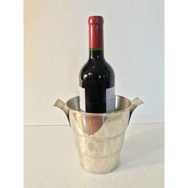 Sterling 925 Wine Cooler Ice Bucket For Sale - Image 10 of 11