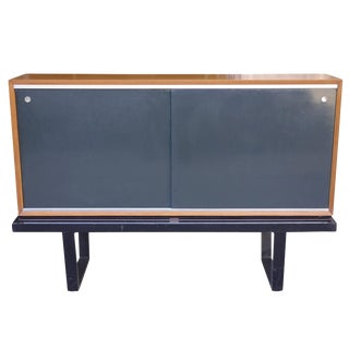 1950s Mid-Century Modern George Nelson for Herman Miller Credenza on Slat Bench For Sale