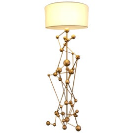 Image of Gold Leaf Floor Lamps