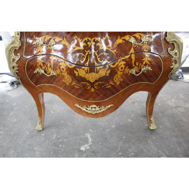 Bronze Mid 19th Century Antique French Bombay Commode For Sale - Image 7 of 13
