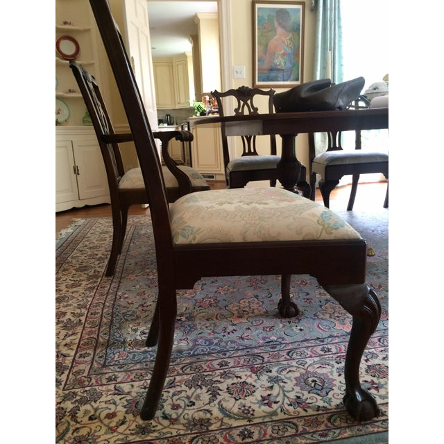 Stickley Mahogany Dining Chair Set - 8 - Image 4 of 9